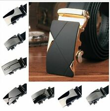Leather Automatic Alloy Buckle Business Casual Men Belt B98B