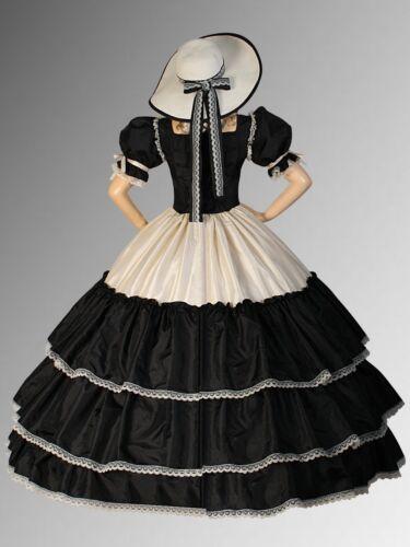 Civil War era Wide Dress Renaissance Ball Wide Gown Fantasy Victorian Costume