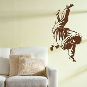 JUDO MARTIAL ARTS KARATE Wall sticker transfer graphic vinyl large decal ne50 - <span itemprop=availableAtOrFrom>Tamworth, Staffordshire, United Kingdom</span> - You Are welcome to return an order within 14 days if you are unhappy for any reason, should the return be due to an error by us we will pay return postage otherwise the bu - Tamworth, Staffordshire, United Kingdom