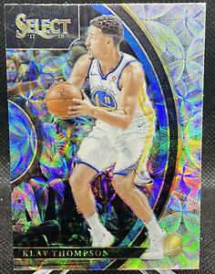 KLAY-THOMPSON-2017-18-PANINI-SELECT-SCOPE-PRIZM-REFRACTOR-GOLDEN-STATE-WARRIORS