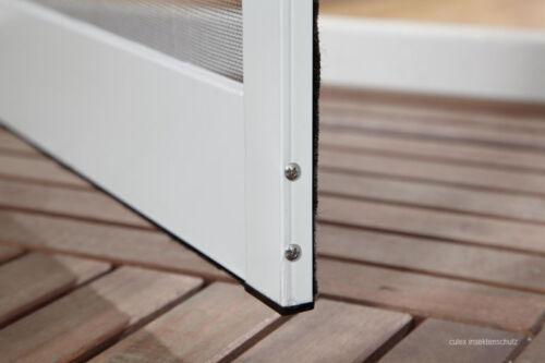 Profi Insektenschutz Tür Fliegengitter Alu XL 120 x 240 cm Top-Qualität 2 Farben