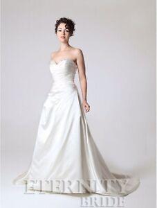 Genuine-Designer-Bridal-Gown-Eternity-Bridal-D5141-Size-14-Ivory