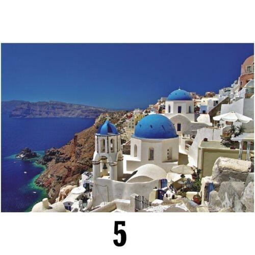 1000 Pieces Adult Puzzles Aegean Sea Puzzle Landscape Style Assembling Puzzles