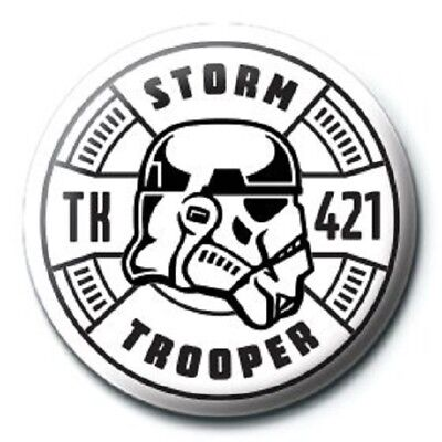 STAR WARS stormtrooper TK421 - BUTTON BADGE official licensed merchandise SW29