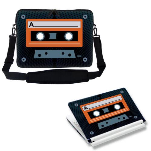 "Laptop Computer Bag with Shoulder Strap /& Matching Skin for 11.6/"" 12.3/"""