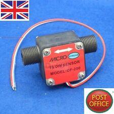 "G1/2"" Oil Fuel Gas diesel Milk Water Liquid Flow Sensor Flow Meter Counter"