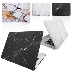 """Marble Hard Case Cover for 11"""", 12, 13, 15, & 16-inch Apple Macbook AIR and PRO"""