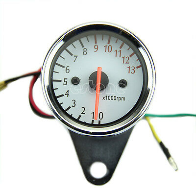 Universal Mechanica 13000RPM Scooter Analog Tachometer Gauge For Motorcycle Hot