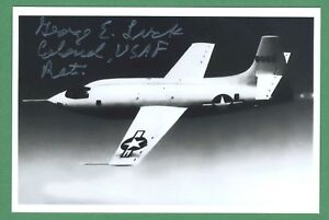 Automobilia Original George Glück Dec.b52 Mothership Bomber Pilot X-1 Flight Unterzeichnet 4x6 Foto Buy One Give One Kataloge & Prospekte