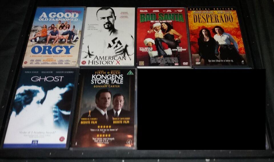 Blandede film A-M, DVD, andet