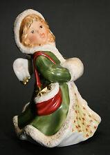 Goebel Engel mit Muff rot/grün (Winterzauber) OVP u. NEU, I Wahl