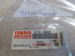 NOS OEM Yamaha Clevis Pin 1977-2016 IT175 IT250 TT500 TT250 XT350 91701-06022