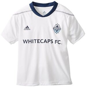 buy online 8468d 5aff1 Details about (Youth Boys Kids) Adidas Performance MLS Vancouver Whitecaps  Home Call Up Jersey