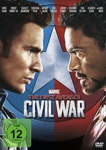 The First Avenger: Civil War -  DVD - NEU/OVP