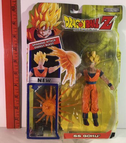 Dragon Ball Z SS Goku Series 16 Jakks Pacific  Spinning Attack Energy Blast