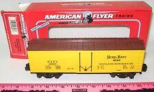 New American Flyer 6-48807 Nickel Plate Road Refrigerator Car