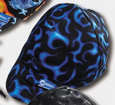 """Size 7-1//2/"""" Blue Flame Miller 286974 HeadThreads Welding Cap"""