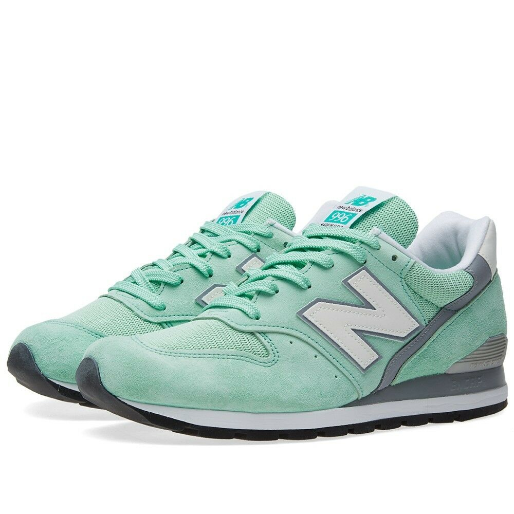 NIB New Balance MENS M996CPS MINT GREEN MADE IN USA PREMIUM LIFESTYLE SNEAKER