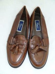 Image is loading BRAGANO-COLE-HAAN-USED-9-5-M-BROWN-