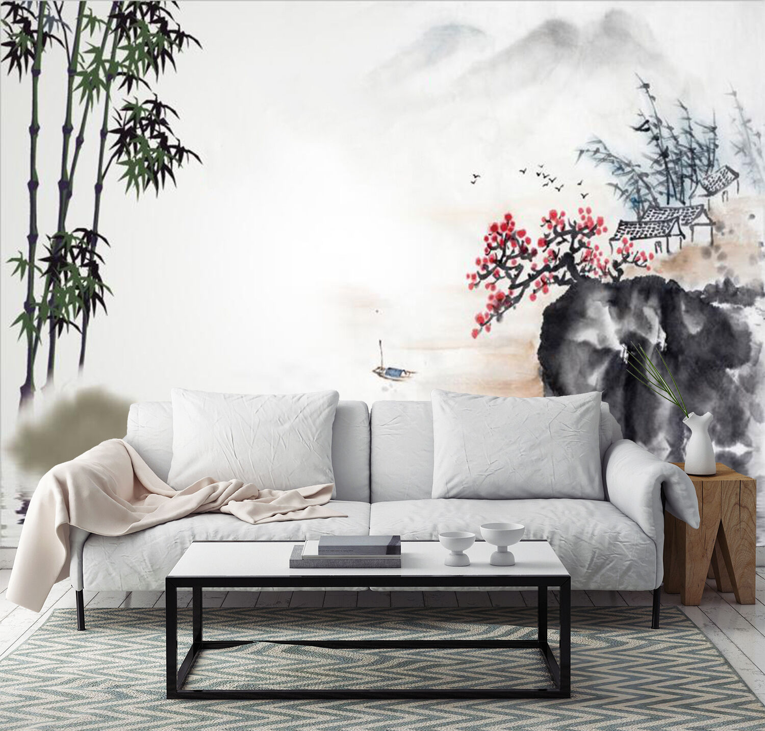 3D Watercolor painting Wall Paper Wall Print Decal Wall Deco Indoor Wall Murals