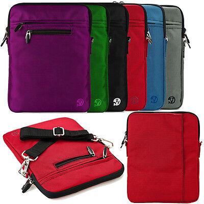 "VanGoddy Nylon Shoulder Bag Sleeve for Lenovo Yoga Tablet 10 HD+ / Miix 2 10.1"""