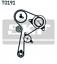 Courroies pour Courroie Motrice SKF VKMA 06134