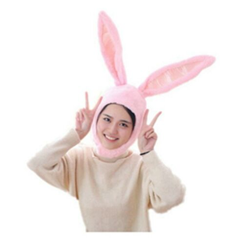 Rabbit Hat Bunny Durable Cap Hat  Ear Animal for Cosplay 1 Pcs Party Activity