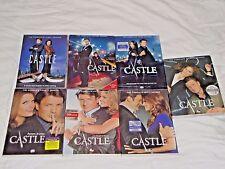 Castle Seasons 1-7,1 2 3 4 5 6 7,DVD,ABC,Nathan Fillion,Stana Katic,New & Sealed