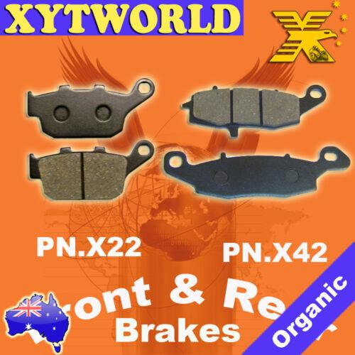 FRONT REAR Brake Pads for Suzuki XF 650 Freewind 1997-2002