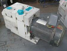 New Listingleybold D40b Dual Stage Rotary Vane Vacuum Pump W Motor T171076