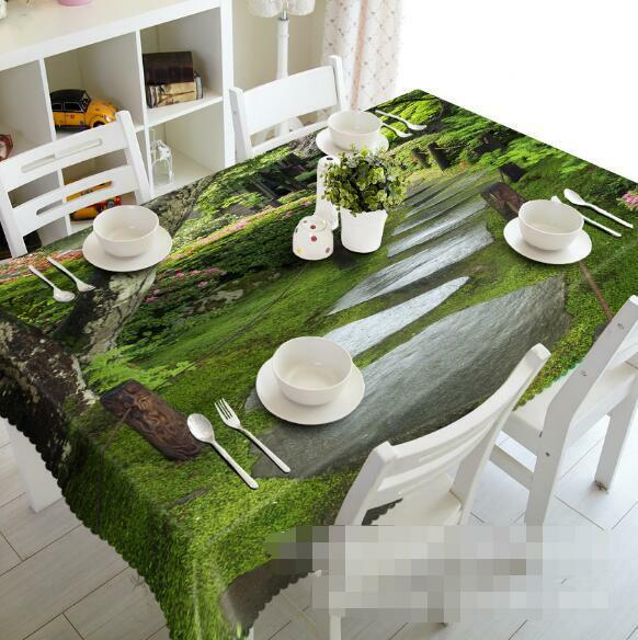 3D Park Road 6 Tablecloth Table Cover Cloth Birthday Party Event AJ WALLPAPER AU