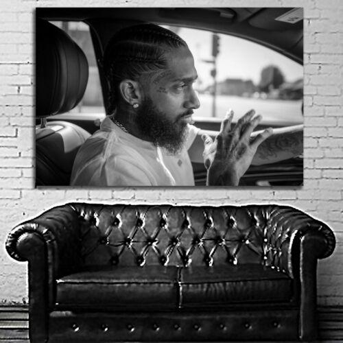 #03 Nipsey Hussle Rap Hip Hop Music Large Poster 40x60 27x40 24x36 20x30 18x24