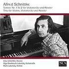 Schnittke: Sonate Nr. 1 & 2 für Violoncello und Klavier; Trio für Violine, Violoncello und Klavier (2015)