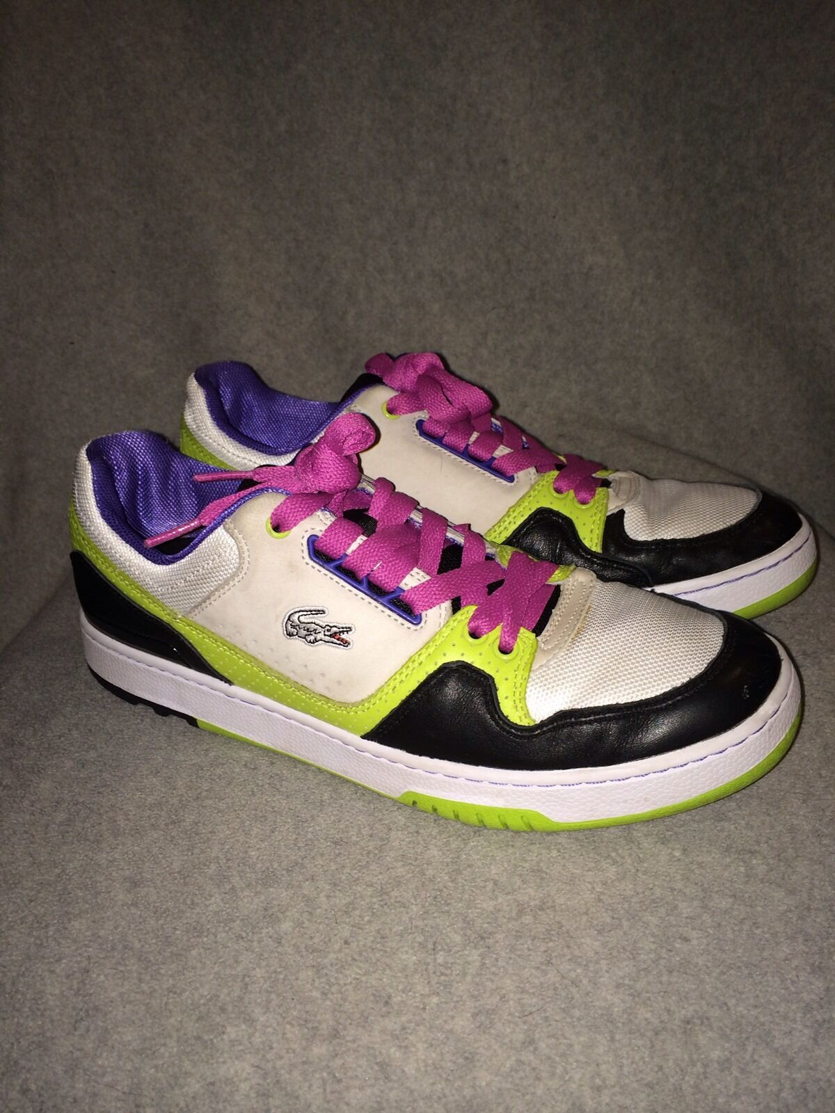 Lacoste Men's 9 1/2 Causual Bright Color Mississippi sneakers, sneakers, sneakers, Great Condition! 857211