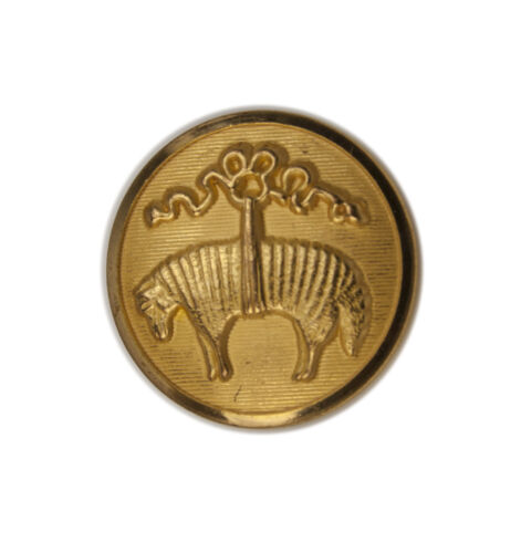 Brooks Brothers Golden Fleece Sheep Metal Main Front Replacement Button .80/""