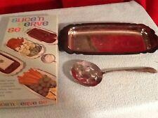 Vintage W.M. Rogers Silverplate Slice'n Serve Set in Original Box