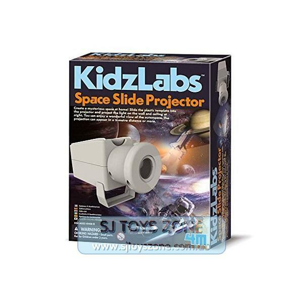 4M Kidz Labs Space Slide Projector Science Kit Educational Activity for Kids