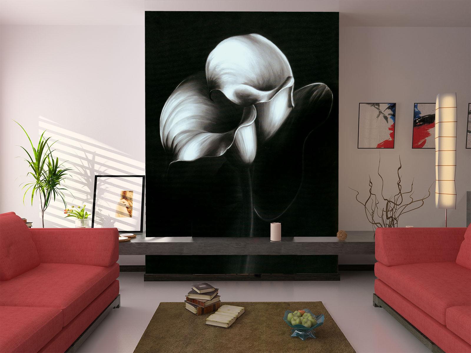 3D Kunst blueme 754  Tapete Wandgemälde Tapete Tapeten Bild Familie DE Summer