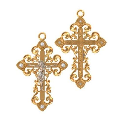 5 pcs Cross Pendant Wax patterns for lost wax casting  jewelry //DIY/_ vkr-046