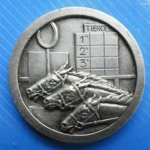 2162-Joli-Medaille-jeton-Tierce-Lily-monnaie-de-Paris