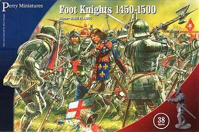 Ernstig Perry - Foot Knights 1450-1500 - 28mm - Wr50
