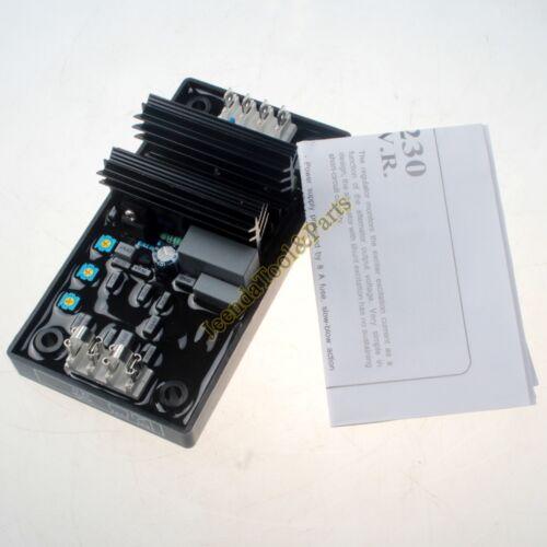 Avr Automático Tensión Regulador R230 para Leroy Somer Electrónicos Módulo Card
