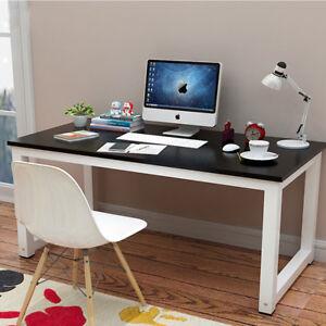 Image Is Loading US Black Computer Desk PC Laptop Table Workstation