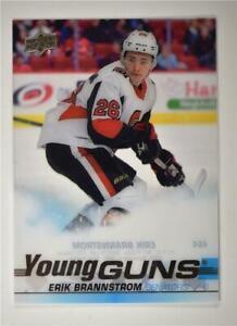 2019-20-Series-2-Clear-Cut-Young-Guns-464-Erik-Brannstrom-Ottawa-Senators