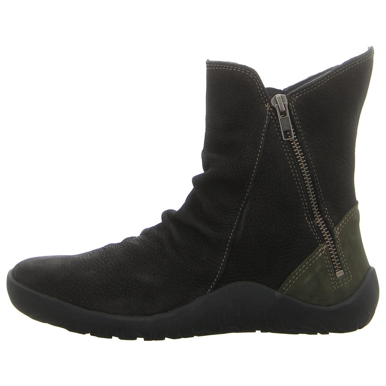 THINK Schuhe Stiefelette GETSCHO 83059-09 sz kombi (schwarz) NEU