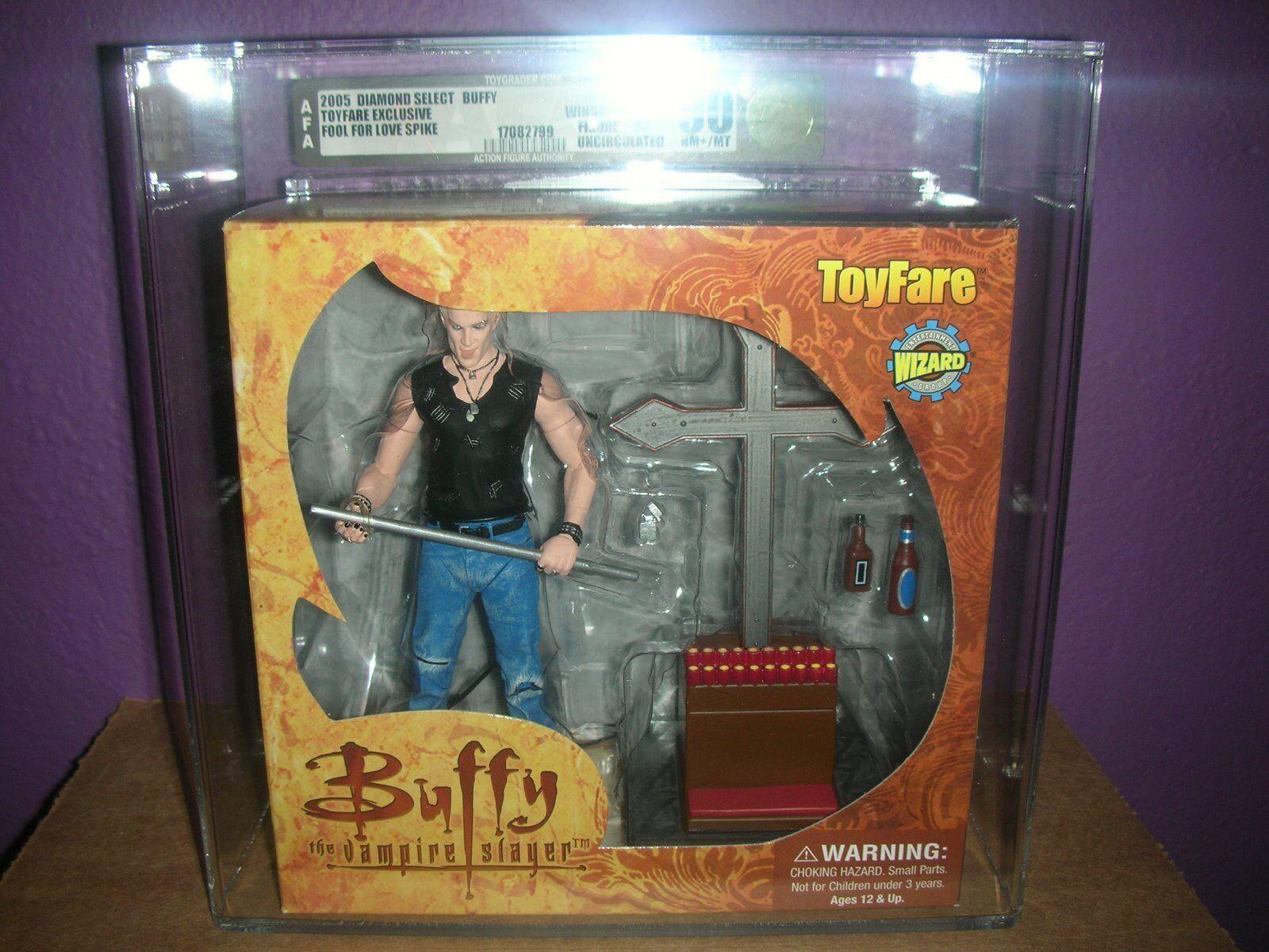 Spike  buffy the vampire slayer - narr für liebe - afa 90 eingestuften bild - toyfare