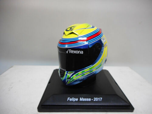 CASCO HELMET FELIPE MASSA 2017 F1 SPARK EDITIONS 1//5