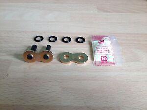 DID-520-ZVM-X-ZVMX-X-RING-GOLD-CHAIN-RIVET-LINK-MASTER-SOFT-LINK-FREE-POST