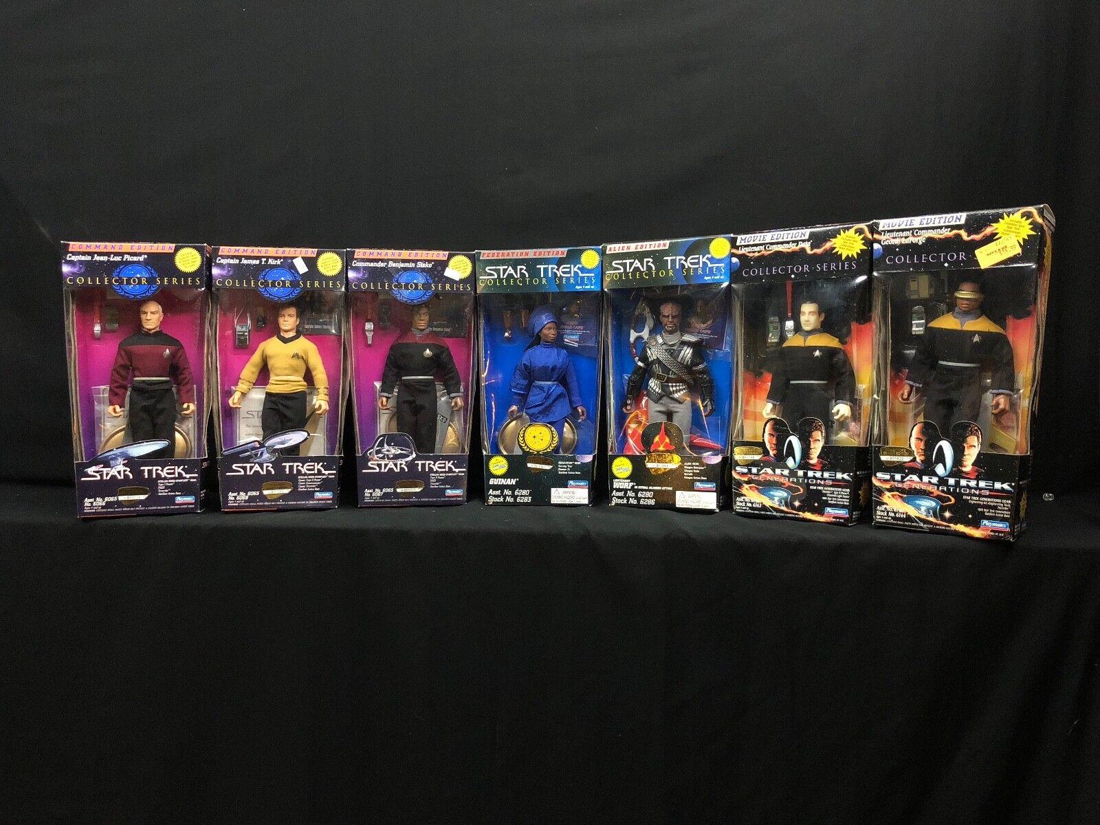 Star Trek 7 Figure Collection 1994 Playmates Spanning générations de Star Trek