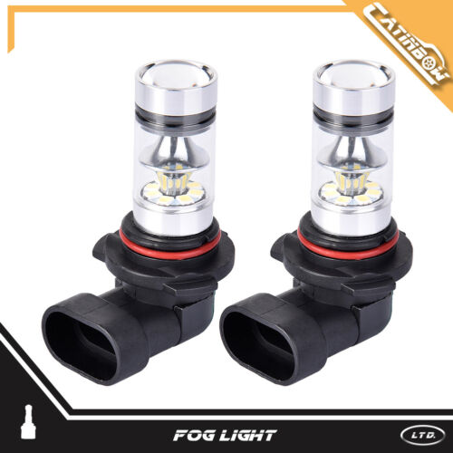 2PCS LED Projector Fog Light H1 H7 H4 50W 100W DRL Car Headlight Bulbs Kit 6000K